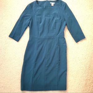 Blue H&M Work Dress
